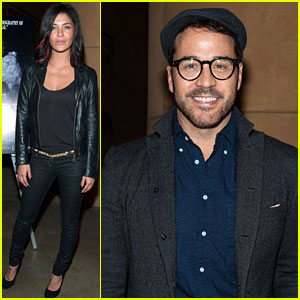 Jessica Szohr & Jeremy Piven: 'Beware of Mr. Baker' Screening