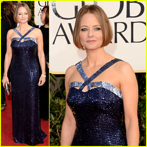 Jodie Foster - Golden Globes 2013 Red Carpet