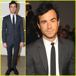 Justin Theroux: Calvin Klein Collection in Italy!
