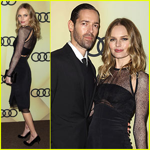 Kate Bosworth & Michael Polish: Sheer Golden Globes Kick Off Party!