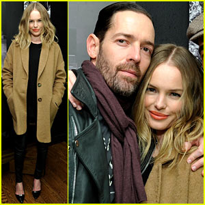 Kate Bosworth: 'Big Sur' Pre-Sundance Dinner with Michael Polish