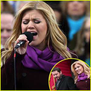 Kelly Clarkson's Inauguration Performance - Watch Now!