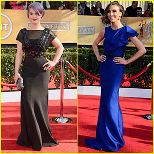 Kelly Osbourne & Giuliana Rancic: SAG Awards Red Carpet 2013