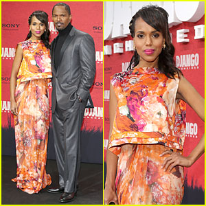 Kerry Washington & Jamie Foxx: 'Django Unchained' Berlin Premiere!