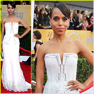 Kerry Washington - SAG Awards 2013 Red Carpet