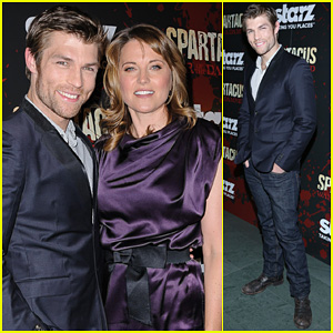 Liam McIntyre: 'Spartacus - War of the Damned' NY Premiere!