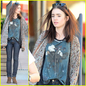 Lily Collins: Vote for 'Mortal Instruments' in MTV Movie Brawl!