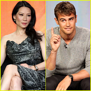 Lucy Liu &#038; Theo James: CBS's TCA Tour Panel!