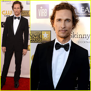 Matthew McConaughey - Critics' Choice Awards 2013 Red Carpet