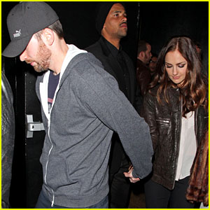 Minka Kelly & Chris Evans: Bootsy Bellows Couple