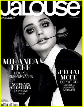 Miranda Kerr Covers 'Jalouse' Magazine