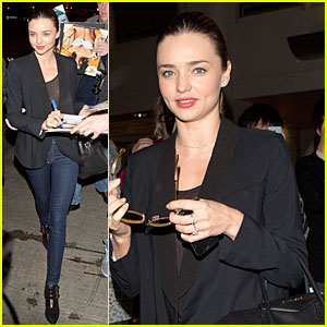 Miranda Kerr: No Time Like Supporter!