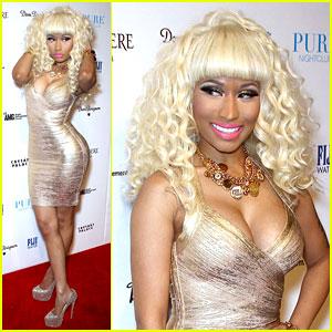 Nicki Minaj shines on the red carpet at the New Year's Eve Affair ...