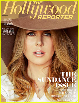 Nicole Kidman Covers 'Hollywood Reporter' Sundance Issue