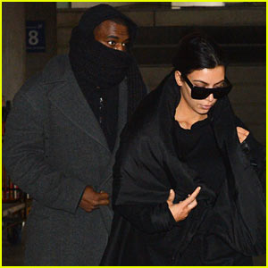 Kim Kardashian & Kanye West: Back in Paris!