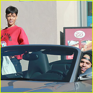 Rihanna & Chris Brown: Slurpee Crav