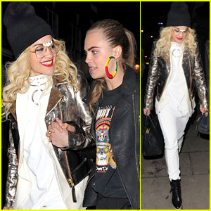 Rita Ora & Cara Delevingne: Girls Night Out!