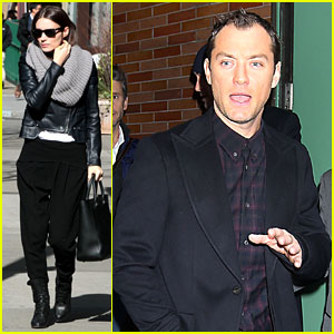 Rooney Mara & Jude Law: Pre-Premiere Big Apple Outings!