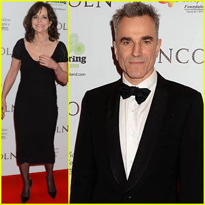 Sally Field & Daniel Day Lewis: European 'Lincoln' Premiere