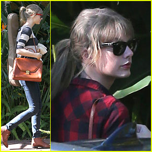 Taylor Swift: Back in the Studio!