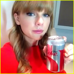 Taylor Swift: Diet Coke Deal Finalized, Video Blog Released!