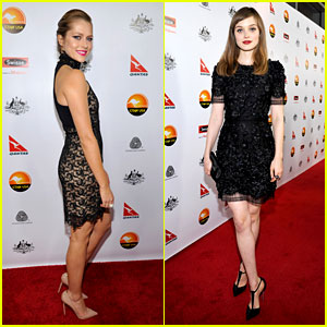 Teresa Palmer & Bella Heathcote - G'Day USA Gala 2013