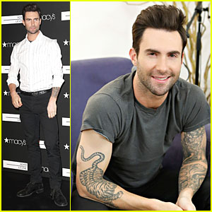 Adam Levine: Fragrance Launch in New York City!