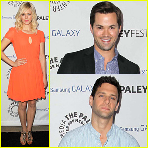 Andrew Rannells & Georgia King: Inaugural PaleyFest Icon Award