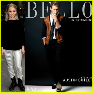 AnnaSophia Robb Visits 'Letterman', Austin Butler Covers 'Bello'
