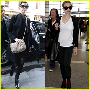 Anne Hathaway &#038; Amanda Seyfried: Berlinale Festival Bound!