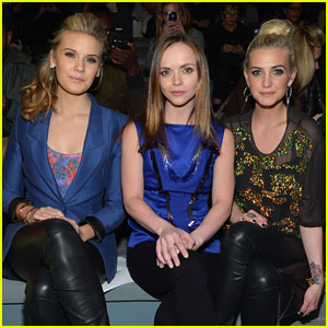 Ashlee Simpson & Christina Ricci: Richard Chai Fashion Show!