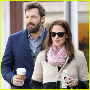 Ben Affleck & Jennifer Garner: Brentwood Breakfast!