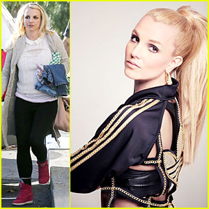 Britney Spears: Gymnastics Class With the Boys!