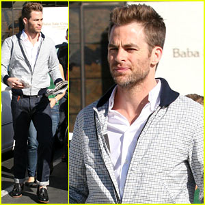 Chris Pine: Magazine Photo Shoot!