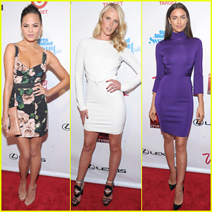 Chrissy Teigen & Anne V: 'SI' Swimsuit Launch Party!