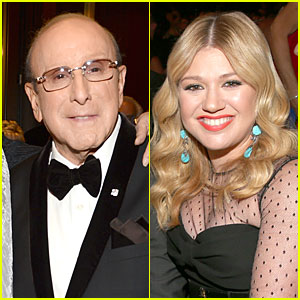 Clive Davis Responds to Kelly Clarkson's Memoir Comments