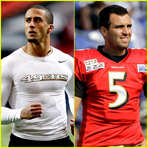 Colin Kaepernick vs. Joe Flacco: Who's the Hotter Quarterback?