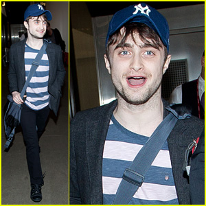 Daniel Radcliffe: New York Yankees Fan!