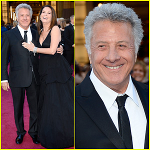 Dustin & Lisa Hoffman - Oscars 2013 Red Carpet