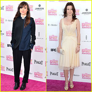Ellen Page & Linda Cardellini - Independent Spirit Awards 2013