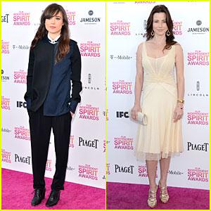 Ellen Page & Linda Cardellini - Independent Spirit Awards 2013