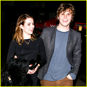 Emma Roberts & Evan Peters: Valentine's Day Date!