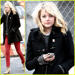 Emma Stone: Tribeca Lunch with a Mystery Male!