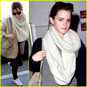 Emma Watson Takes Flight After 'Perks' DVD Release