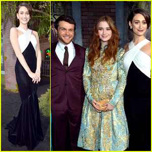 Emmy Rossum &amp; Alice Englert: 'Beautiful Creatures' Premiere!