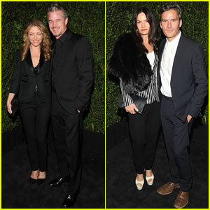 Eric Dane &#038; Rebecca Gayheart: Chanel Pre-Oscars Dinner 2013