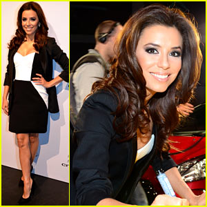 Eva Longoria: Citroen DS3 Cabrio Launch!