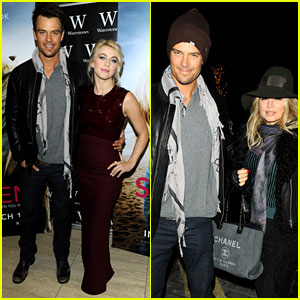 Fergie & Josh Duhamel: London Outing with Julianne Hough!