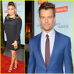 Fergie & Josh Duhamel: 'Safe Haven' Hollywood Premiere!