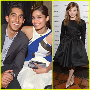 Freida Pinto & Dev Patel: '10x10' & 'Girl Rising' DJ Night!